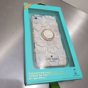 Kate Spade iPhone 7 case and ring kick stand